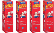 Boudreauxs Butt Paste Nappy Rash Ointment, mIHOWM, Maximum Strength - Contains 40% Zinc Oxide - Pediatrican Recommended - Paraben and Preservative-Free - 4Pack