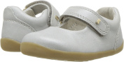 Bobux Girl's Step Up 'Delight' Mary Jane First Walking Shoes, Silver Shimmer
