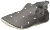 Bobux Unisex Babies' Grau MIT weißen Kreuzchen Loafers