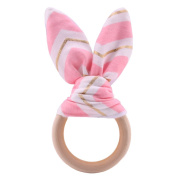 Best for baby Bracelet Wooden Ring Teether Baby Teething Toys
