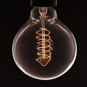 B22 VINTAGE LIGHT BULB | Large Globe Spiral Filament