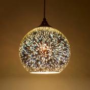 Modern 3D Multicolor Creative Glass Ceiling Lights Lamp Shade Chandelier Minimalist Art Pendant Lights