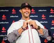 J.D. Martinez Boston Red Sox MLB Action Photo (Size