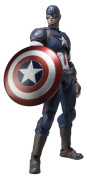 SH Figuarts Avengers Captain America about 155mm ABS & PVC painted action figure
