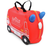 Trunki Frank the Firetruck Ride-On Suitcase