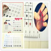 Miswilsi Hot Women Beauty Soft Pad Nail Art Reverse Stamp Silicone Mat