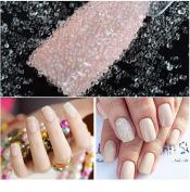 10 Box Clear Mini Nail Caviar Decoration Micro Glitter Beads Manicures Nail Art Rhinstone DIY Nail Accessories Tools