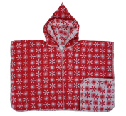 """David Fussenegger Hooded Poncho Blanket. New Collection """"Little Stars"""" Size 2-4 Years"""