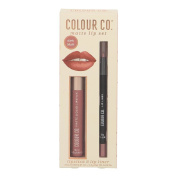 Colour Co. Matte Lips Set Dark Blush