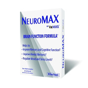 VirMax Once Daily Formula NeuroMAX, Natural Brain Function Formula, 30 Day Supply, 30 Capsules