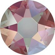 2000, 2038 & 2078 Flatback Crystals Hotfix Light Colorado Topaz Shimmer | SS6 (2.0mm) - Pack of 50 | Small & Wholesale Packs | Free Delivery