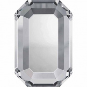 2610 Flatback Crystals Hotfix Rectangle   Crystal   6x4mm - Pack of 10   Small & Wholesale Packs   Free Delivery