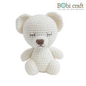 Mini Lizzie The Softie, hand crochet toy, soft plush toy, safe gift for new born babies and children, even infants, bedtime toy for kids, designed by Bobi Craft.