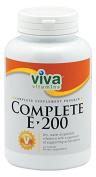 Viva Vitamins Complete E 200