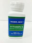Trader Joe's Vitamin E 400 I.U 100 Softgels