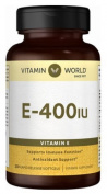 Vitamin World Vitamin E 400IU 250 softgels
