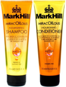 (2 PACK) Mark Hill Hair MiracOILous Nourishing SHAMPOO x 250ml & Mark Hill Hair Miracoilous CONDITIONER x 250ml