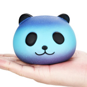 Cure Galaxy Cute Panda Decompression Toy Kawaii Baby Cream Scented Squishy Slow Rising Squeeze Kids Toy For Stress Relief