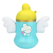 Squishy Angel Baby Bottle Toys, HARRYSTORE 2018 Newest Lovely Cup Shape Squishies Toy Slow Rising Relieves Stress Soft Toy for Children and Adult Toy Gift