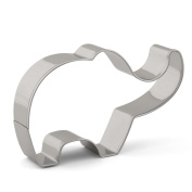Elephant Cookie Cutter Zoo Animal Fondant Cutters for Kids - 9.1cm x 5.6cm - Stainless Steel