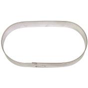 Capsule Plaque Cookie Cutter 13cm B703 - Foose Cookie Cutters - USA Tin Plate Steel