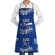 Kansas Flag Family Man Kitchen Apron Colourful Waterproof Fade-proof BBQ Sewing Apron