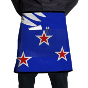 Tennessee Flag Short Apron Gag Gift Apron With Pockets Intended For Adult One Size BBQ Terylene