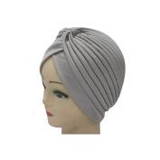 Raylans Womens Indian Style Headwrap Cap Turban Hat Cloche Chemo Hair Cover Headband