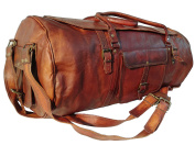 70cm Inch Leather Luggage bags leather Bags Duffel GYM Bags for men and women
