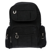 Christian Wippermann® Women's Backpack black black 24 x 30 x 13 cm