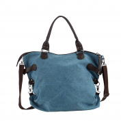 ZKOO Women Large Hobo Bags Shoulder Bag Canvas Tote Bags Ladies Travel Holiday Weekend Bags