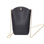 Domybest Women PU Leather Mini Phone Bag Chain Shoulder Crossbody Messenger Bags