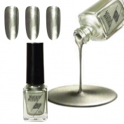 Nail Polish,Victorcn Mirror Nail Polish Plating Silver Paste Metal Colour Stainless Steel