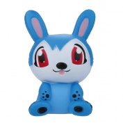 12CM Cute Rabbit Squishy Toy,Mamum Lot Jumbo Squishy Super Soft Slow Rising Squeeze Toy Pressure Relief Kids Toys