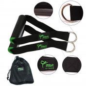 Professional Exercise Handles for Cable Machines and Resistance Bands