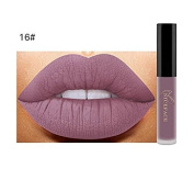 Buweiser 26-colour lipstick liquid matte waterproof moisturising shiny lip gloss lip gloss 1pc