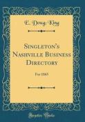 Singleton's Nashville Business Directory