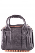 Alexander Wang Women's MCBI335028O Black Leather Handbag