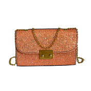 Women Leather Bag Fashion Crossbody Bling Sequins Shoulder Bag Evening Party Club Night Out Girl Bag Gift