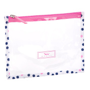 SCOUT Sheer Madness Toiletry Pouch, Guys and Dots