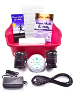 Ionic Detox Ion Foot Spa Aqua Chi Unit for Home Use comes with Free Booklet and Brochure