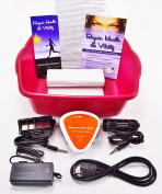 Ionic Detox Foot Bath Spa Chi Cleanse Unit for Home Use With 2 Super Duty Arrays and Free Extras!