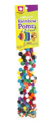 Creative Hands Poms for Crafting (225 Piece), Rainbow