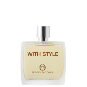 Sergio Tacchini with Style After Shave Lotion for Men, 100ml