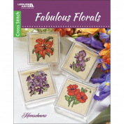 Leisure Arts 6740 Fabulous Florals Art and Craft Supply