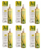 SPECCHIASOL – verattiva Sun Protection Spray SPF 30 200 ml x 6 Packs Antiage Hydrating Solar, with filters, and Water Resistant