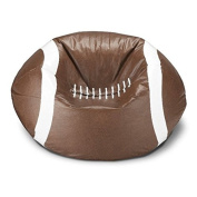 Large Furniture Football Bean Bag Chair for Man Cave Kids Room or NFL Fans