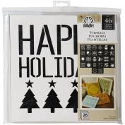 FolkArt Holiday Value Stencil Pack