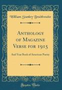 Anthology of Magazine Verse for 1915
