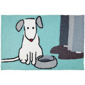 Jellybean Suppertime! Pets Indoor/Outdoor Machine Washable 50cm x 80cm Accent Rug